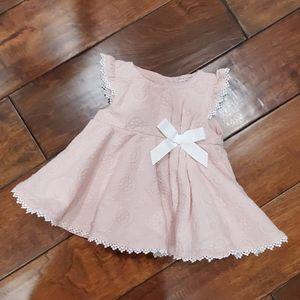 Catherine's Malandrino Mini Blush Pink Dress